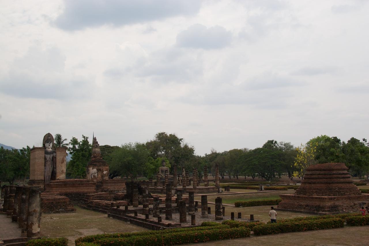 Sukhothai Historical Park • Ruins at Sukhothai Historical Park.
