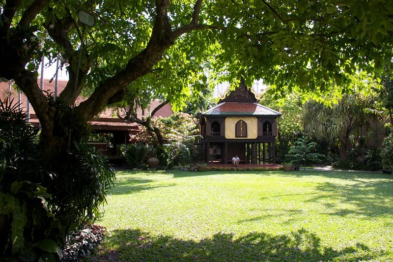 Garden • The garden at Suan Pakkard Palace, Bangkok.