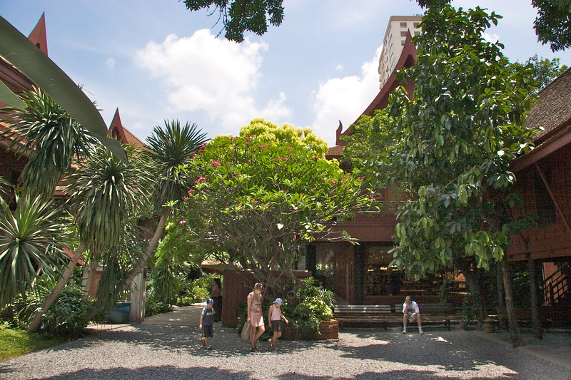 Jim Thompson's House • The garden at Jim Thompson's House in Bangkok.
