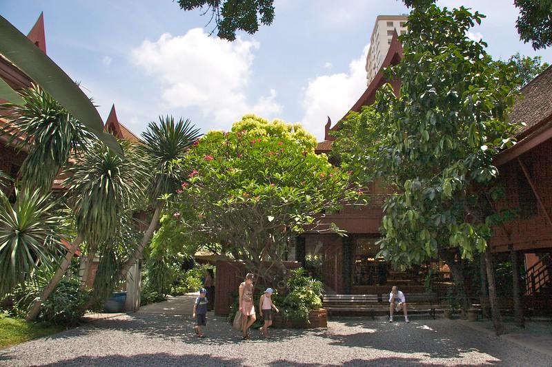 Jim Thompson's House • The garden at Jim Thompson's House in Bangkok.