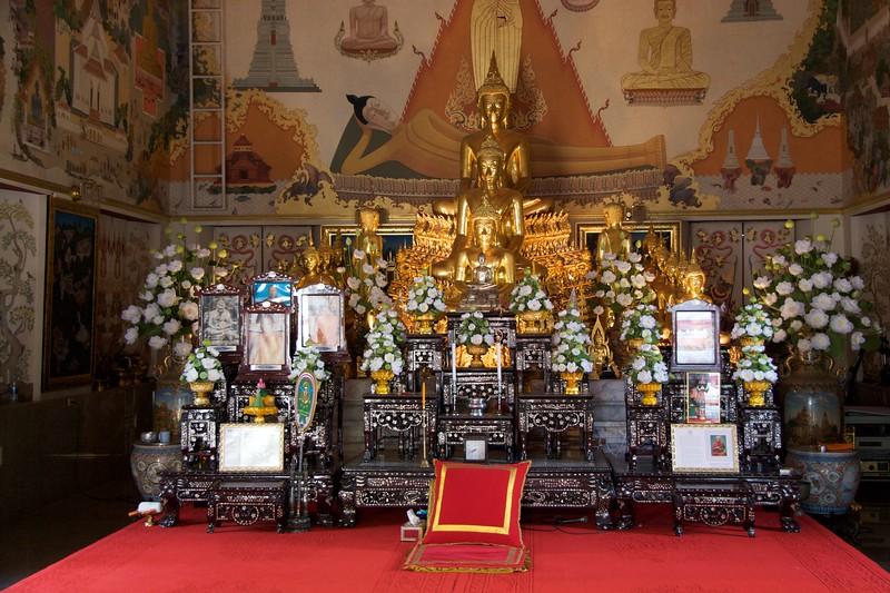 Buddhas • At Wat Trithotsa Thep, Bangkok.