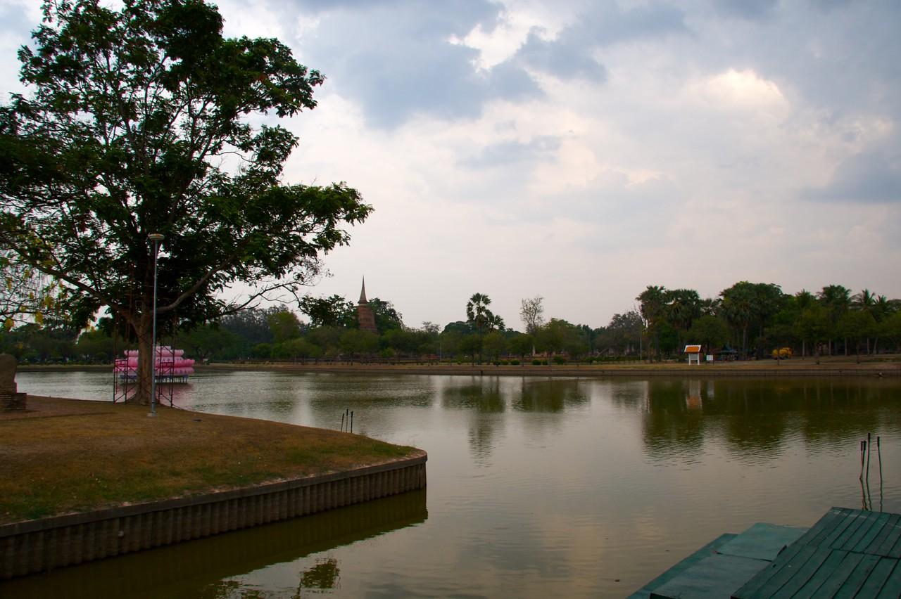 Sukhothai Historical Park • A lake in Sukhothai Historical Park.
