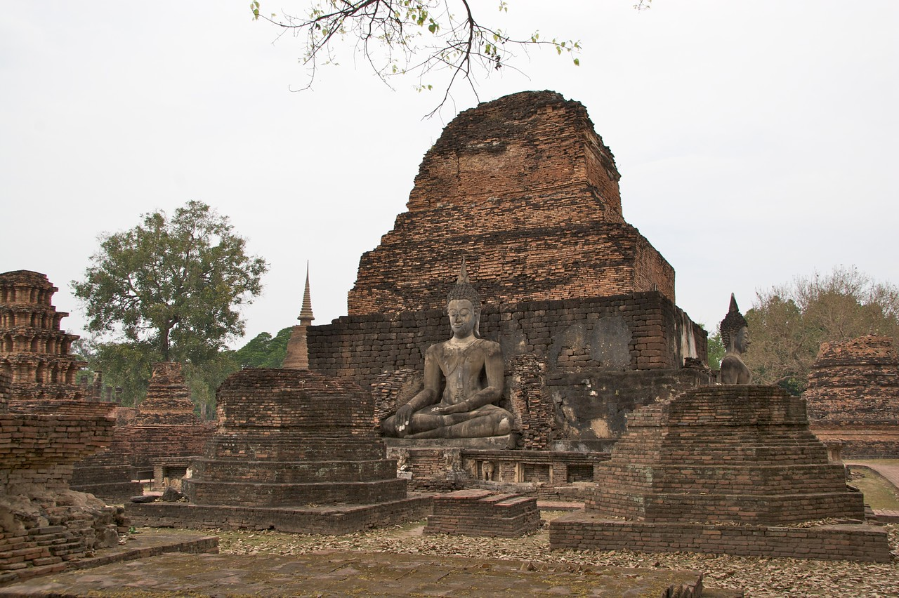 Sukhothai Historical Park • Remnants of structures which formed the old Thai capital of Sukhothai in the 13th–15th Centuries.