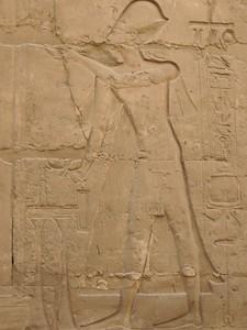 Karnak Temple detail - Amy Garawitz