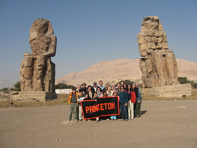 Princeton Group at Colossi of Memnon - Amy Garawitz