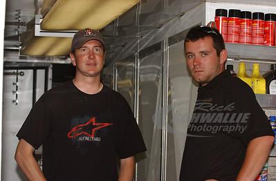 Kurt Busch and Michael England