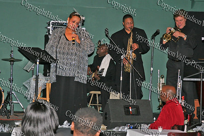 Consuelo Hill in concert at It's All Good Restaurant at 90 Broadway in Newburgh