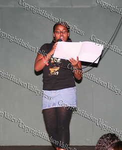 "Ayanna Anderson recites her poem entitled ""Where are you?"""