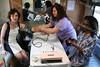 Nancy Levins, Jessica Lugan and Erica Alvarado