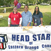 Priscilla Velez, Raymond Cruz and Slyvia Carrero at the Head Start of Eastern Orange County booth.