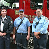 Lt Sean Maher, Scott Mocko Raymundo Mera of the Newburgh Fire Department