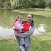 Yvette Joiner holding Savannah Joiner