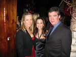 Anne Hearst, Bettina Zilkha & Jay McInerney