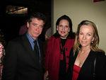 Jay McInerney, Allison Mazzola & Anne Hearst