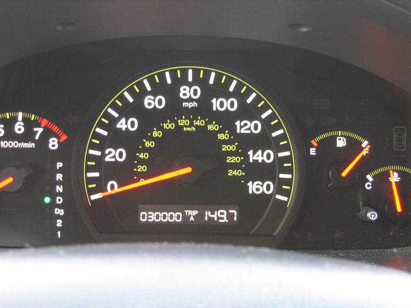 30,000 miles on the Accord!