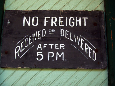 No Freight