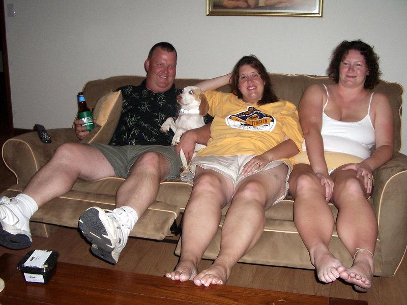 Phil, Charlotte, Ace & Pud