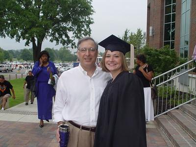 Gina Brandon college graduation