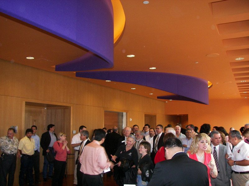 The 2006 Inauguration Reception at the Latino Cultural Center - April 4, 2006