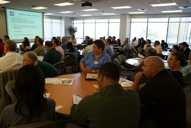 Over 150 attend the HCADFW Monthly Procurement Luncheon