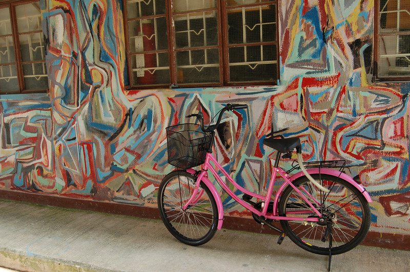 Bicycle at Cheung Chau