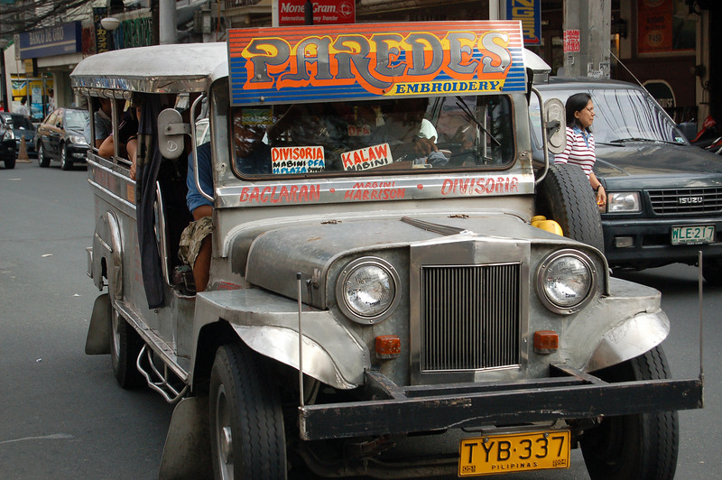 Jeepneys! Unique to Manila