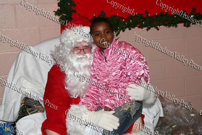 Nigeria with Santa Claus