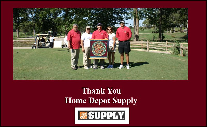 HCADFW Board Members Thank Home Depot Supply