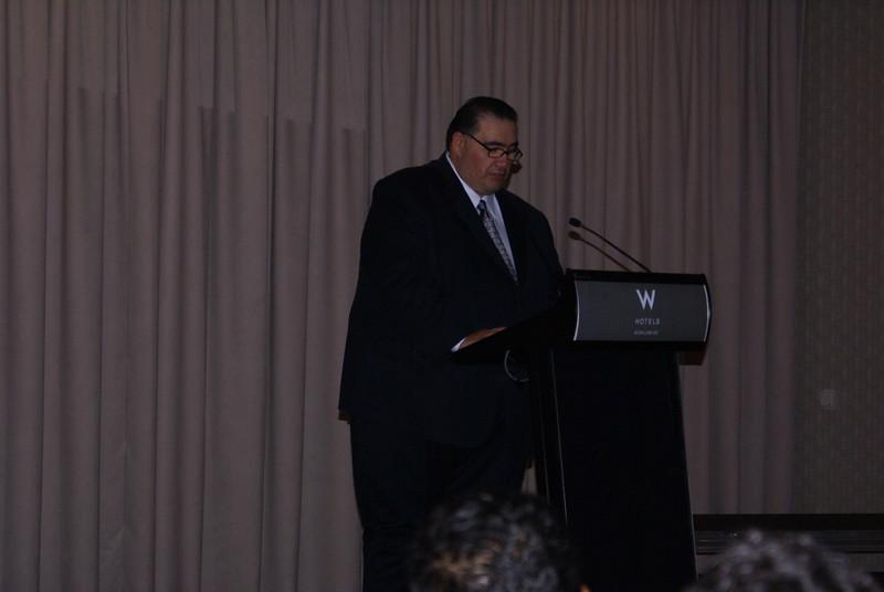 John H. Martinez-D., HCADFW President
