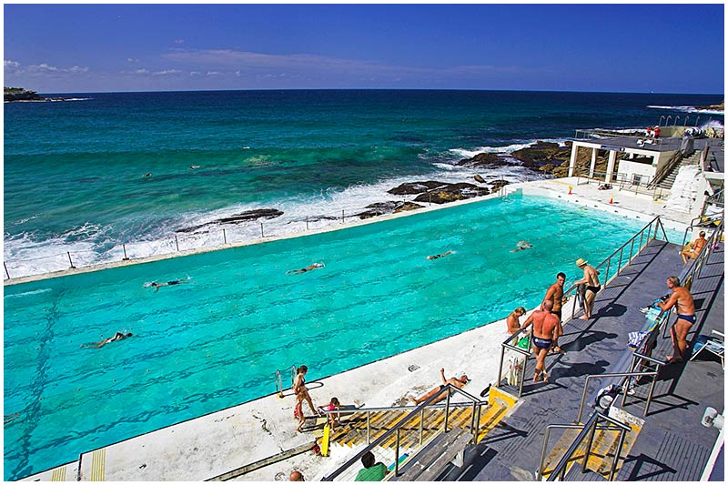 Bondi Icebergs Pool, Bondi, Tuesday January 3rd 2006. <br /> <br /> EXIF DATA <br /> Canon 1D Mk II. EF 17-35mm f/2.8L @17mm 1/200s f/9 ISO 200.