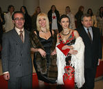 Alexandre Gertsman, Anna Kildaze, Irina Dvorovenko, Hon. Andrei Denisov