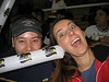 Us being crazy at a Ice Bats hockey game