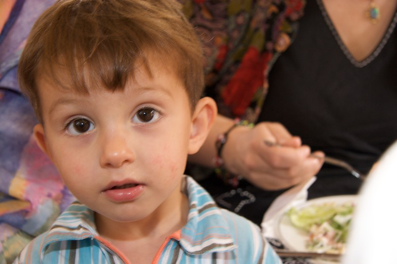 Hadi • Hadi at the buffet lunch after John's first Mass at Rusholme, the day after his Ordination.