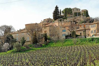 Le village de Joucas