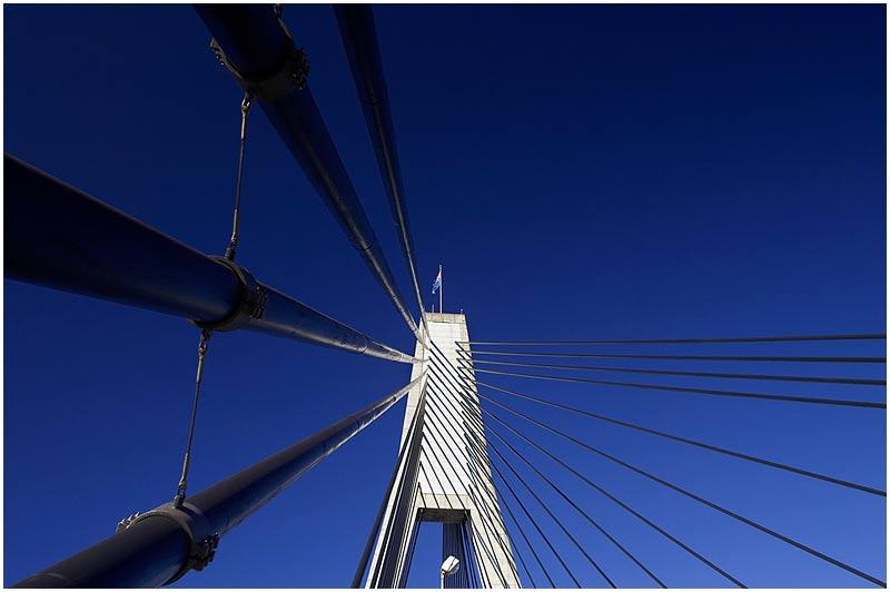 Sydney, Tuesday July 11th 2006. <br /> <br /> Anzac Bridge. <br /> <br /> <br /> EXIF DATA <br /> Canon 1D Mk II. EF 17-35 f/2.8L@35mm 1/80 f/10 ISO 200.
