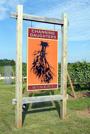 "<a href=""http://www.channingdaughters.com/"">Channing Daughters Winery</a>, 1927 Scuttlehole Road, <a href=""http://en.wikipedia.org/wiki/Bridgehampton,_New_York"">Bridgehampton, NY</a>"
