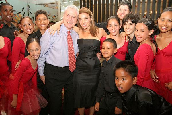 Pierre Dulaine, Tia Cibani with Youth Dance Company