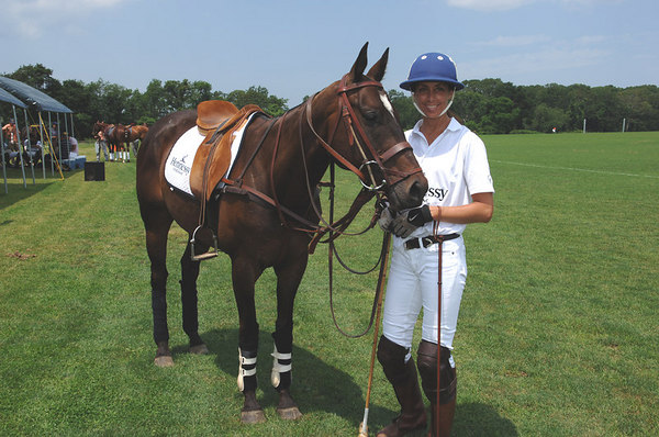Hennessey Team Captain: Yvonne Morabito at Southampton Hunt & Polo Club