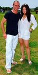 Stefan Lang & Susan Shin at Hennessy Polo Cup at Southampton Hunt & Polo Club
