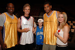 Kwame Jackson, Jay Sugarman,Arno Sugarman, Allan Houston & Kelly Sugarman