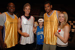 Kwame Jackson, Jay Sugarman,___Sugarman, Allan Houston & Kelly Sugarman