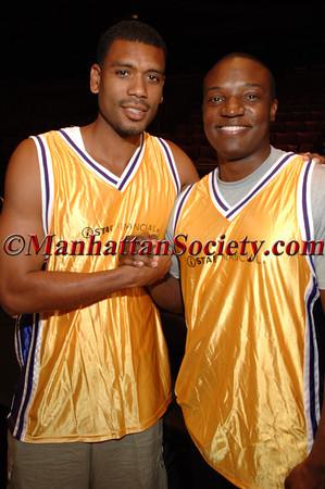 Allan Houston & Kwame Jackson