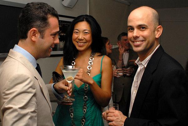 Yorgos Scarpidis, Diana Hsu & Greg Joye