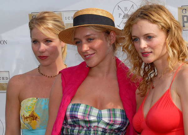 Christina Applegate, Chloe Sevigny & Heather Graham