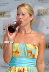 Christina Applegate enjoys Gold Peak Ice Tea