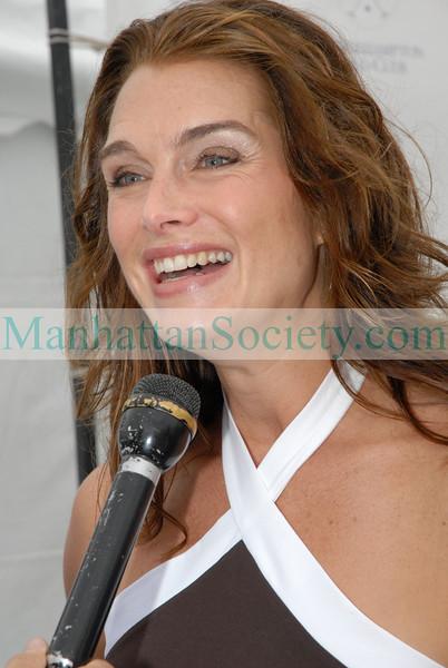 Brooke Shields at Bridgehampton Polo Opening Day