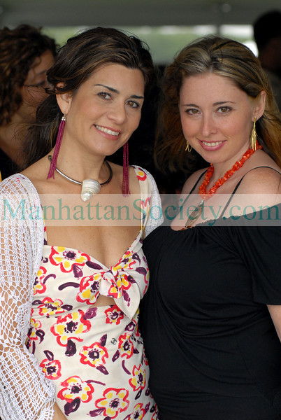 Samantha Daniels & Nicole Wool at Opening Day of the MERCEDES-BENZ POLO CHALLENGE AT THE BRIDGEHAMPTON POLO CLUB