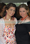 Samantha Daniels & Nicole Wool at Bridgehampton Polo Opening day