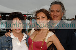 Designer Nicole Romano with mom and dad Romano