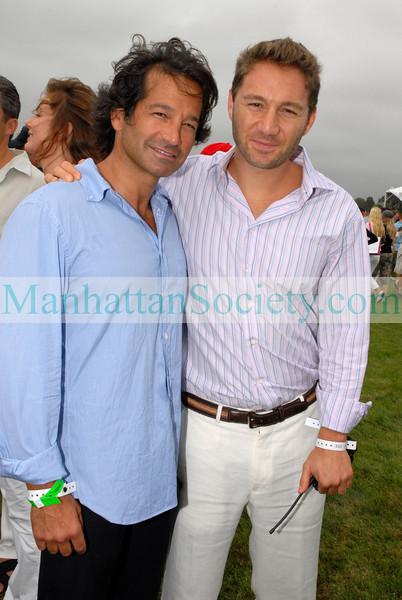 Seth Greenberg & Jason Strauss at Bridgehampton Polo